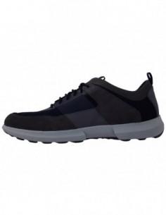 Pantofi sport barbati, piele naturala, marca Geox, Cod U743RB-07-06, culoare bleumarin