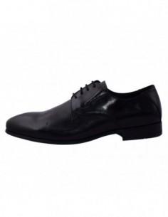 Pantofi eleganti barbati, din piele naturala, marca Masotti, W8109-01-130, negru