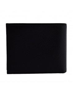 Portofel piele barbati, din piele naturala, marca Bond, 519-01-8-19-19, negru