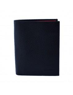 Portofel piele barbati, din piele naturala, marca Bond, 599-01-8-19-19, negru