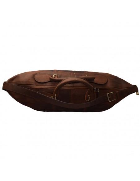 Geanta voiaj, din piele naturala, marca Tony Bellucci, T-5111-07-02-64, maro