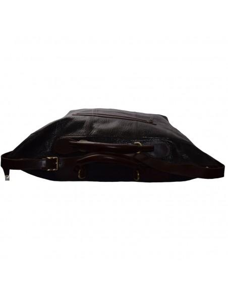 Geanta voiaj, din piele naturala, marca Tony Bellucci, T-5110-896-H6-64, maro