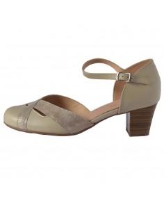 Pantofi vara dama, din piele naturala, marca Alpina, 80N9-7-03-O-23, bej