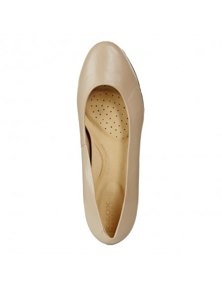 Pantofi dama, din piele naturala, marca Geox, D92CBA-C6738-03-O-06, bej