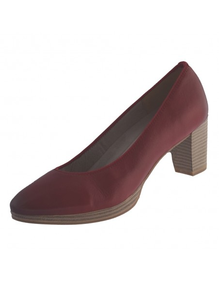Pantofi dama, din piele naturala, marca Marco Tozzi, 2-22400-34-05-O-08, rosu