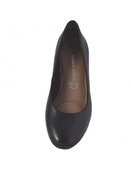 Pantofi dama, din piele naturala, marca Marco Tozzi, 2-22306-34-01-O-08, negru