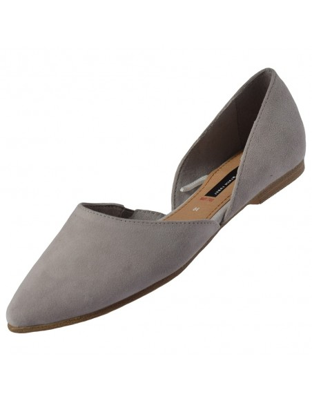 Pantofi vara dama, din piele naturala, marca Tamaris, 5-24200-24-14-O-15, gri