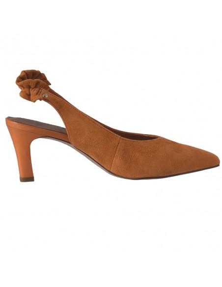 Pantofi dama, din piele naturala, marca Tamaris, 1-29602-24-11-O-10, orange