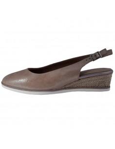 Pantofi dama, din piele naturala, Tamaris, 1-29503-24-10-O-10, roze