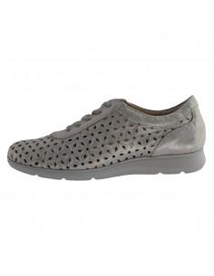 Pantofi dama, din piele naturala, Pitillos, 6120-12-O-132, auriu