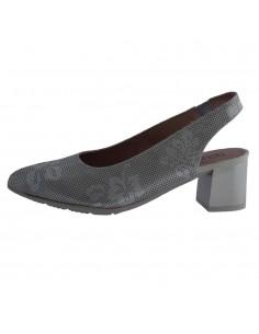 Pantofi dama, din piele naturala, Pitillos, 6151-14-O-132, gri