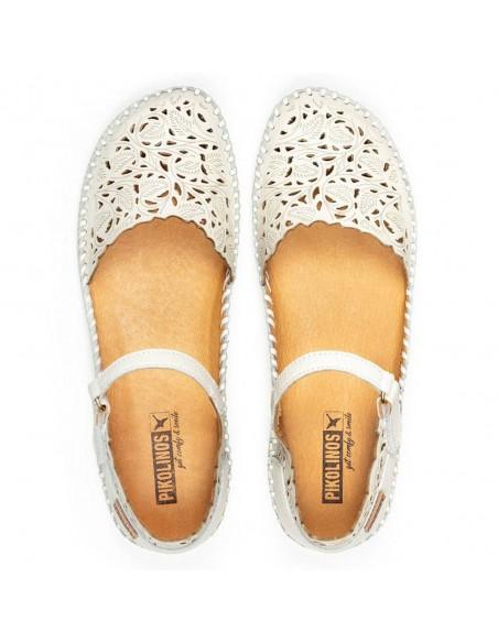 Sandale dama, din piele naturala, Pikolinos, 655-0906-52-O-21, crem