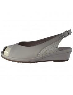 Sandale dama, din piele naturala, Jana, 8-29291-24-J9-O-09, alb murdar