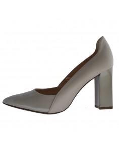 Pantofi dama, din piele naturala, Caprice, 9-22411-24-52-O-03, crem