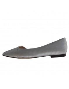 Pantofi vara dama, din piele naturala, Caprice, 9-24203-24-18-O-03, argintiu