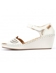 Sandale dama, din piele naturala, Pikolinos, 943-1859-52-O-21, crem