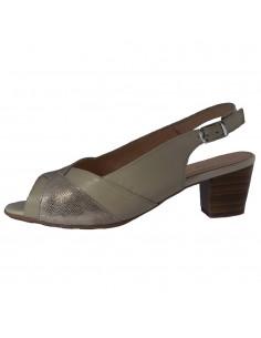 Sandale dama, din piele naturala, Alpina, 9L02-7-03-O-23, bej