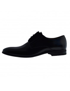Pantofi barbati, din piele naturala, Conhpol, C00C-8573-Z009-01-O-40, negru