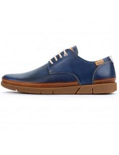 Pantofi barbati, din piele naturala, Pikolinos, M0R-4339C1-07-O-21, albastru