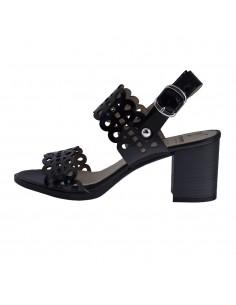 Sandale dama, din piele naturala, Dorking, D7797-KF-01-O-136, negru