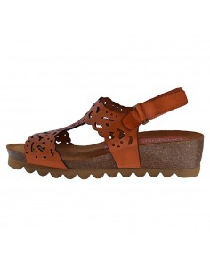 Sandale dama, din piele naturala, Dorking, D7846-TX-11-O-136, orange