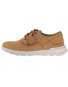 Pantofi barbati, din piele naturala, KicKers, 769120-60-04-O-134, camel