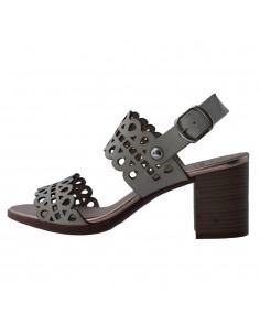 Sandale dama, din piele naturala, Dorking, D7797-TQ-O-136, gri deschis