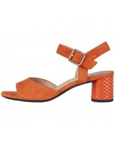 Sandale dama, din piele naturala, Geox, D02GNC-C2008-11-O-06, orange