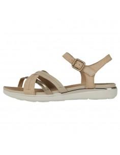 Sandale dama, din piele naturala, Geox, D02GZA-C5ZB5-03-O-06, bej
