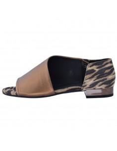 Sandale dama, din piele naturala, Geox, D724HA-C0202-17-O-06, bronz
