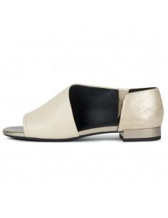 Sandale dama, din piele naturala, Geox, D724HA-C5004-03-O-06, bej