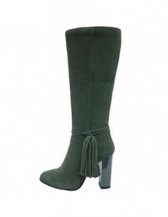 Cizme dama, piele naturala, marca Botta, Cod 919-06-05, culoare verde