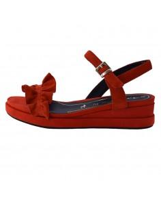 Sandale dama, din piele naturala, Tamaris, 1-28205-24-O-37-10, corai