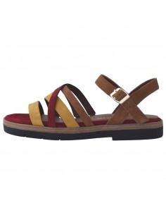 Sandale dama, din piele naturala, Tamaris, 1-28114-24-16-O-10, coniac