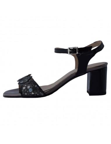 Sandale dama, din piele naturala, Brenda Zaro, F3244A-01-O-84, negru