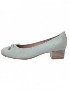 Pantofi dama, piele naturala, marca Caprice, Cod 22307-N0-03, culoare verde
