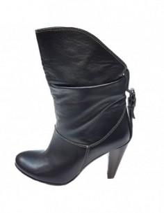 Cizme dama, piele naturala, marca Efetti, Cod 5409-01-125, culoare negru