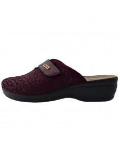 Papuci de casa dama, din textil, marca Inblu, BJ000115-19-P-89, mov