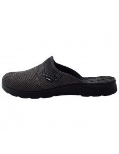 Papuci de casa barbati, din textil, marca Inblu, BG000037-14-P-89, gri