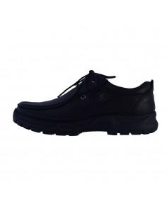 Pantofi barbati, din piele naturala, marca Mels, 9806-01-P-143, negru