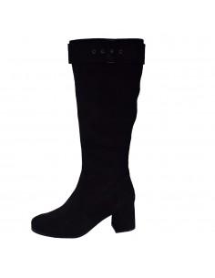 Cizme dama, din piele naturala, marca Caprice, 9-25503-25-01-P-03, negru