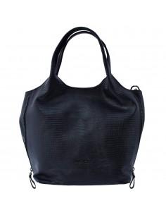 Geanta dama, din piele naturala, marca Tony Bellucci, 0377-01-64, negru