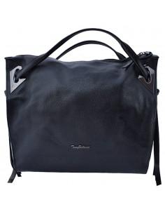 Geanta dama, din piele naturala, marca Tony Bellucci, 0210-01-64, negru