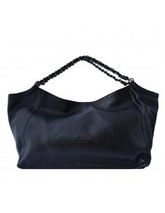Geanta dama, din piele naturala, marca Tony Bellucci, 0378-01-64, negru