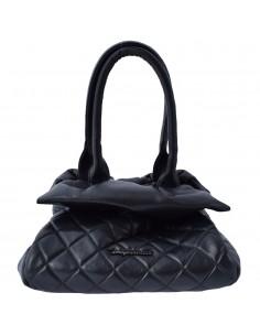 Geanta dama, din piele naturala, marca Tony Bellucci, 0391-01-64, negru