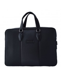 Geanta barbati, din piele naturala, marca Bond, 1178-50-01-19, negru