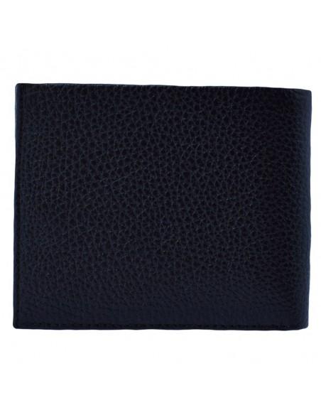 Portofel piele barbati, din piele naturala, marca Bond, 514-281-01-19, negru