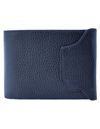 Portofel piele barbati, din piele naturala, marca Bond, 511-1170-42-19, bleumarin