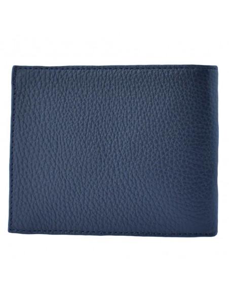 Portofel piele barbati, din piele naturala, marca Bond, 531-1170-42-19, bleumarin
