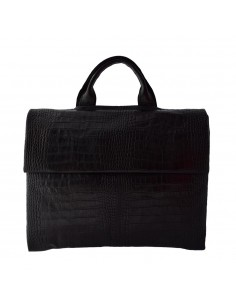 Geanta barbati, din piele naturala, marca Bond, 1039-01-19, negru